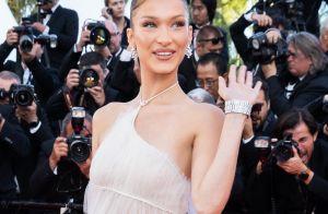 Bella Hadid : Angélique pour sa montée des marches à Cannes