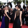 """Mélanie Doutey, Jeremy Lewin assistent à la montée des marches du film """"La belle époque"""" lors du 72ème Festival International du Film de Cannes. Le 20 mai 2019 © Borde / Bestimage"""