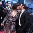 Mélanie Doutey et Gilles Lellouche à la cérémonie de clôture du 65e Festival de Cannes. Le 27 mai 2012.