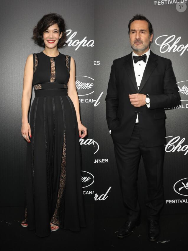 Mélanie Doutey et Gilles Lellouche assistent à la soirée du trophée Chopard lors du 72ème Festival International du Film de Cannes le 20 mai 2019. © Olivier Borde/Bestimage
