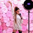 Le musée Madame Tussauds à Londres dévoile sa nouvelle statue de la chanteuse Ariana Grande. Le 21 mai 2019.