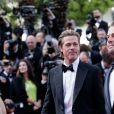 """Brad Pitt, Leonardo DiCaprio - Montée des marches du film """"Once upon a time... in Hollywood"""" lors du 72ème Festival International du Film de Cannes. Le 21 mai 2019 © Jacovides-Moreau / Bestimage"""