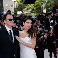 """Quentin Tarantino et sa femme Daniella Pick - Montée des marches du film """"Once upon a time... in Hollywood"""" lors du 72ème Festival International du Film de Cannes. Le 21 mai 2019 © Jacovides-Moreau / Bestimage"""