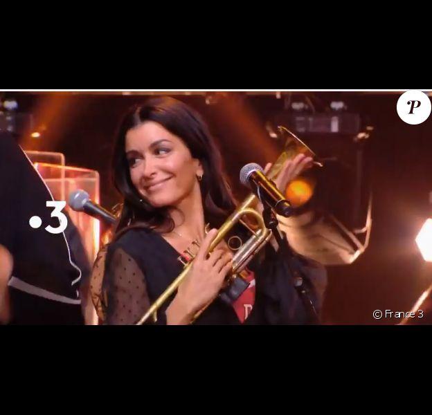 """Jenifer dans """"Les Enfants de la musique chantent les années 70"""", vendredi 24 mai 2019, sur France 3"""