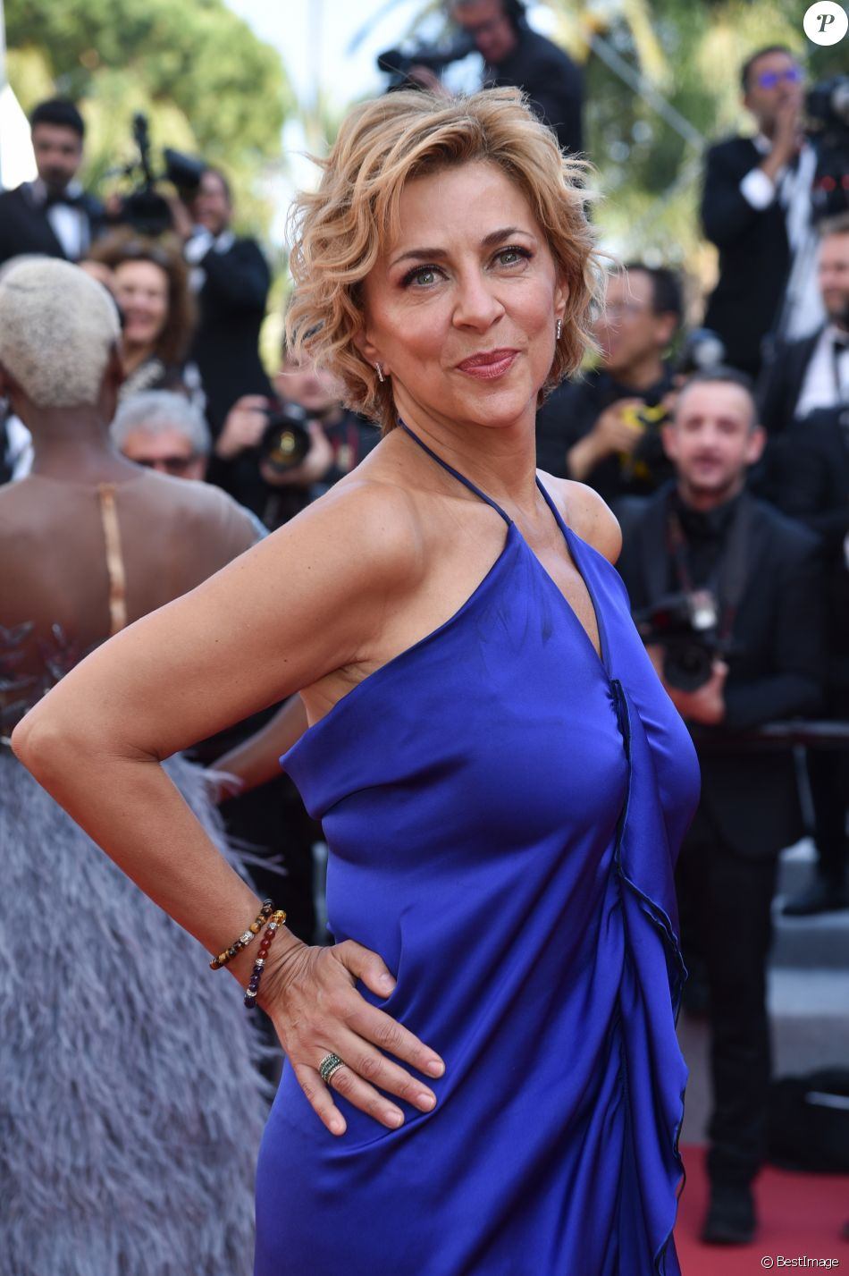 "Corinne Touzet - Montée des marches du film ""Le Traitre (Il Traditore)"" lors du 72ème Festival International du Film de Cannes. Le 23 mai 2019 © Giancarlo Gorassini / Bestimage  Red carpet for the movie ""The Traitor"" during the 72nd Cannes International Film festival. On may 23rd 201923/05/2019 - Cannes"