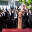 "Guest, Marco Bellocchio, Maria Fernanda Cândido, Pierfrancesco Favino, guest - Montée des marches du film ""Le Traitre (Il Traditore)"" lors du 72ème Festival International du Film de Cannes. Le 23 mai 2019 © Tiziano Da Silva / Bestimage  Red carpet for the movie ""The Traitor"" during the 72nd Cannes International Film festival. On may 23rd 201923/05/2019 -"