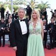"Jean-Claude Narcy, Alice Bertheaume - Montée des marches du film ""Le Traitre (Il Traditore)"" lors du 72ème Festival International du Film de Cannes. Le 23 mai 2019 © Giancarlo Gorassini / Bestimage  Red carpet for the movie ""The Traitor"" during the 72nd Cannes International Film festival. On may 23rd 201923/05/2019 -"