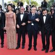 "Pierfrancesco Favino, Maria Fernanda Cândido, Fausto Russo Alesi, Marco Bellocchio, Luigi Lo Cascio, guest - Montée des marches du film ""Le Traitre (Il Traditore)"" lors du 72ème Festival International du Film de Cannes. Le 23 mai 2019 © Giancarlo Gorassini / Bestimage  Red carpet for the movie ""The Traitor"" during the 72nd Cannes International Film festival. On may 23rd 201923/05/2019 -"