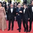 "Maria Fernanda Cândido, Fausto Russo Alesi, Marco Bellocchio, Luigi Lo Cascio, guest - Montée des marches du film ""Le Traitre (Il Traditore)"" lors du 72ème Festival International du Film de Cannes. Le 23 mai 2019 © Giancarlo Gorassini / Bestimage  Red carpet for the movie ""The Traitor"" during the 72nd Cannes International Film festival. On may 23rd 201923/05/2019 -"