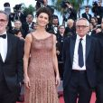 "Fausto Russo Alesi, Maria Fernanda Cândido, Marco Bellocchio, guest - Montée des marches du film ""Le Traitre (Il Traditore)"" lors du 72ème Festival International du Film de Cannes. Le 23 mai 2019 © Giancarlo Gorassini / Bestimage  Red carpet for the movie ""The Traitor"" during the 72nd Cannes International Film festival. On may 23rd 201923/05/2019 -"