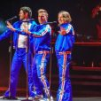 Gary Barlow, Howard Donald et Mark Owen - Take That a lancé sa tournée Greatest Hits 2019 à la Sheffield Arena, le 11 avril 2019.