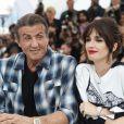 """Sylvester Stallone et Paz Vega au photocall du film """"Rambo V: Last Blood"""" lors du 72ème Festival International du film de Cannes, France, le 24 mai 2019. © Jacovides-Moreau/Bestimage"""