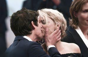 Virginie Efira et Niels Schneider : Tendres baisers après l'incident à Cannes