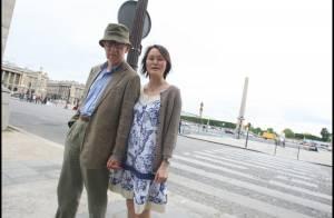 Woody Allen et sa femme : le couple le moins souriant de Paris... se prépare à rencontrer Nicolas et Carla !