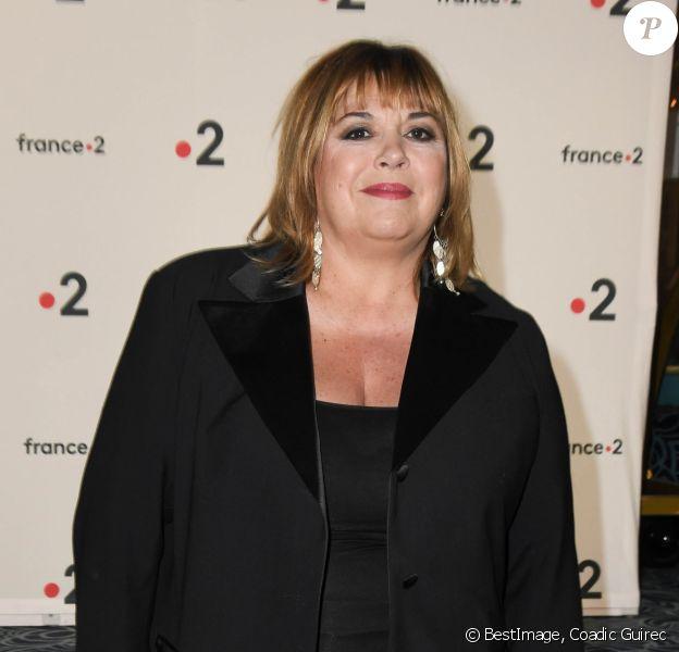 Michèle Bernier lors de la 31e cérémonie des Molières 2019 aux Folies Bergère à Paris, France, le 13 mai 2019. © Coadic Guirec/Bestimage