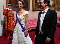 Kate Middleton : Éblouissante avec Melania et Ivanka Trump à Buckingham