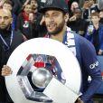Neymar Jr. - Le PSG célèbre son titre de Champion de France 2019 au Parc ders Princes à Paris, le 18 mai 2019. © Marc Ausset-Lacroix/Bestimage