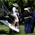 Donald Trump et sa femme Melania - Le président des Etats-Unis et sa femme accueillis au palais de Buckingham à Londres. Le 3 juin 2019