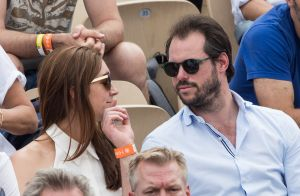 Félix et Claire de Luxembourg : Tendre baiser princier à Roland-Garros