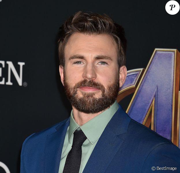 """Chris Evans - Avant-première du film """"Avengers : Endgame"""" à Los Angeles, le 22 avril 2019."""