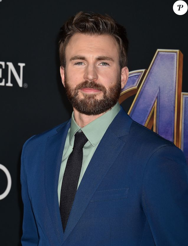 "Chris Evans - Avant-première du film ""Avengers : Endgame"" à Los Angeles, le 22 avril 2019."