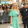Katy Perry à la sortie de l'émission Good Morning America à New York. Katy porte un sac de sa propre marque! Lle 8 mai 2019.