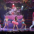 Katy Perry en concert au Zénith de Paris, le 8 mars 2011.