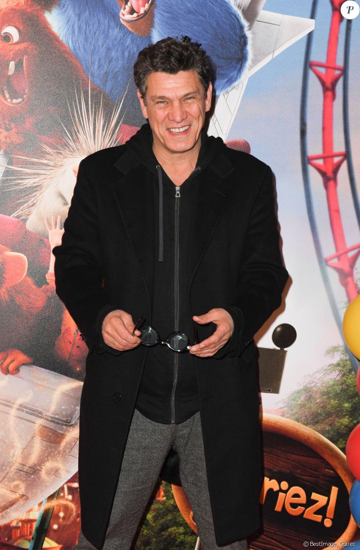 """Marc Lavoine - Avant-première du film """"Le Parc des Merveilles"""" au cinéma Gaumont-Opéra à Paris. Le 17 mars 2019 © Coadic Guirec / Bestimage"""