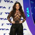 Demi Lovato lors de la soirée MTV Video Music Awards 2017 au Forum à Inglewood, le 27 août 2017.