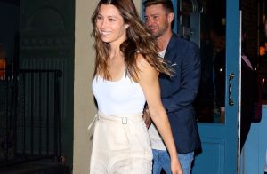 Jessica Biel : Souriante et stylée avec son mari Justin Timberlake