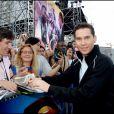 Bryan Singer à la première de Superman Returns, à Paris, le 10 juillet 2006