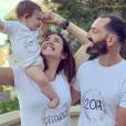 Tiffany, Justin (Mariés au premier regard) et leur petite Romy annoncent l'arrivée d'un deuxième bébé, le 6 juin 2019.