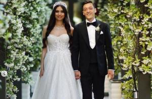 Mesut Özil marié à la magnifique Miss Amine : son témoin très spécial