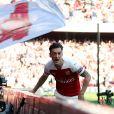 Mesut Özil lors du match Arsenal-Crystal Palace le 21 avril 2019.