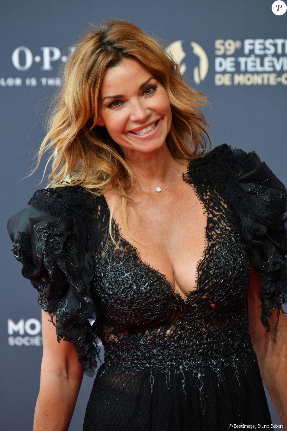 Ingrid Chauvin durant la soirée d'ouverture du 59ème Festival de Télévision de Monte Carlo à Monaco le 14 juin 2919.© Bruno Bebert / Bestimage