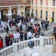 Vue d'ensemble lors du cocktail du 59e Festival de Télévision de Monte-Carlo au palais princier à Monaco le 16 juin 2019. © Olivier Huitel/ Pool Organisation FTV/Bestimage