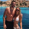 La joueuse de tennis danoise Caroline Wozniacki en vacances en Sardaigne avec son petit-ami David Lee, juin 2017.