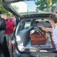 Obsèques d'Emiliano Sala à Progreso en Argentine le 16 Février 2019.