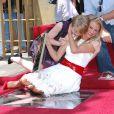 Sofia Vassilieva et Cameron Diaz lors de l'inaugration de l'étoile de Cameron Diaz sur le Walk of Fame à Hollywood le 22 juin 2009 : un élan de complicité entre les deux actrices de Ma vie pour la tienne