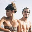 Roméo Elvis et sa compagne, Lena Simonne, sur Instagram.