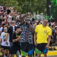 """Exclusif - Russel Westbrook - Personnalités lors de l'événement """"Quai 54 World Streetball Championship"""" sur la pelouse de la rue de Suffren à Paris, France. Le 22 juin 2019. © Pierre Perusseau / Bestimage"""