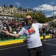 """Exclusif - Darko Peric - Personnalités lors de l'événement """"Quai 54 World Streetball Championship"""" sur la pelouse de la rue de Suffren à Paris, France. Le 22 juin 2019. © Pierre Perusseau / Bestimage"""