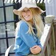 """Claudia Schiffer en couverture de """"Madame Figaro"""", en kiosques le 28 février 2019."""