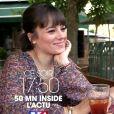 """Alizée et Grégoire Lyonnet dans """"50' Inside"""" sur TF1 le 29 juin 2019 à 17h50."""