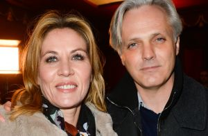 Mathilde Seigner et son fils Louis :