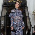 """Nikki Reed arrive à la soirée de lancement du parfum """"7 lovers"""" de Carine Roitfeld à l'hôtel Peninsula de Paris, France, le 1er juillet 2019. © Veeren-Clovis/Bestimage"""