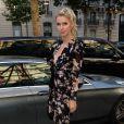 """Nicky Hilton Rotschild arrive à la soirée de lancement du parfum """"7 lovers"""" de Carine Roitfeld à l'hôtel Peninsula de Paris, France, le 1er juillet 2019. © Veeren-Clovis/Bestimage"""