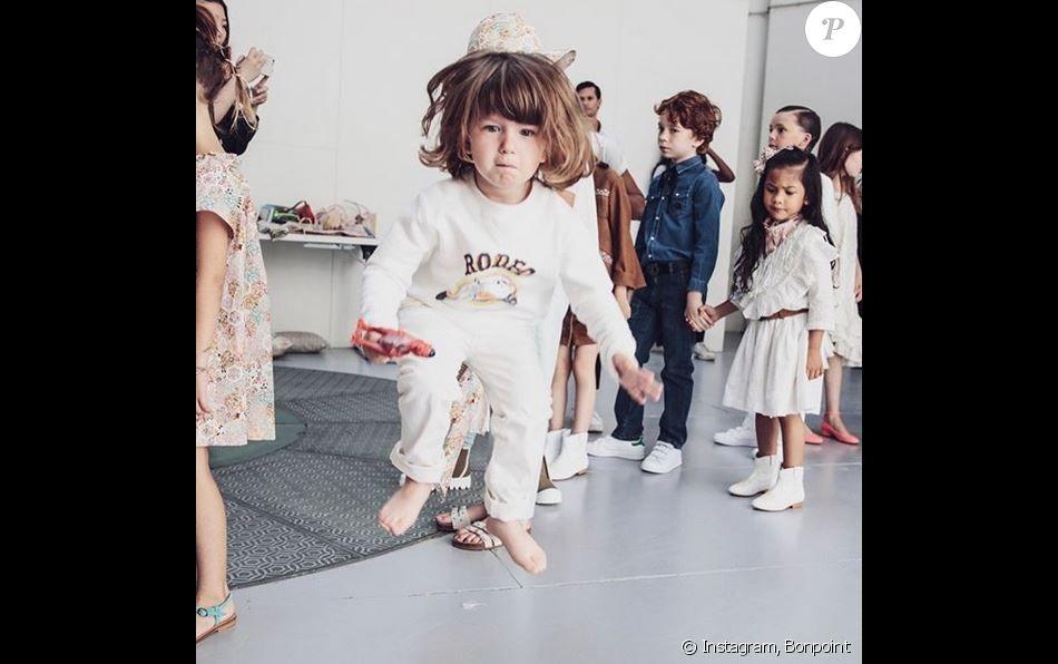 Défilé Bonpoint, collection printemps-été 2020, au Grand Palais. Paris, le 3 juillet 2019.