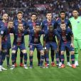 "Alphonse Areola, Thilo Kehrer, Marquinhos, Presnel Kimpembe, Colin Dagba, Marco Verratti, Leandro Paredes, Layvin Kurzawa, Dani Alves, Kylian Mbappé, Moussa Diaby lors du match de Ligue 1 ""PSG - AS Monaco (3-1)"" au Parc des Princes à Paris. © Giancarlo Gorassini/Bestimage"