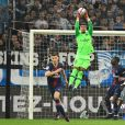 Alphonse Areola lors du match de football de ligue 1 opposant le Paris Saint-Germain (PSG) à l'Olympique de Marseille (OM) au stade Vélodrome à Marseille, France, le 28 octobre 2018. Le PSG a gagné 2-0. © Lionel Urman/Bestimage  French First League soccer match, PSG vs OM at Velodrome stadium in Paris, France, on October 28, 2018.28/10/2018 - Marseille
